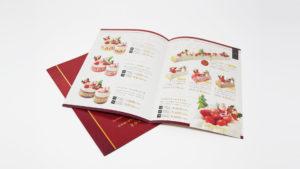 クリスマスケーキ冊子 – A5二つ折り